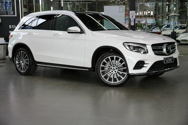 Used Mercedes-Benz GLC-Class X253 807MY GLC250 9G-Tronic 4MATIC North Melbourne, 2017 Mercedes-Benz GLC-Class X253 807MY GLC250 9G-Tronic 4MATIC White 9 Speed Sports Automatic Wagon