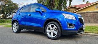 2016 Holden Trax TJ MY16 LTZ Blue/90728 6 Speed Automatic Wagon.
