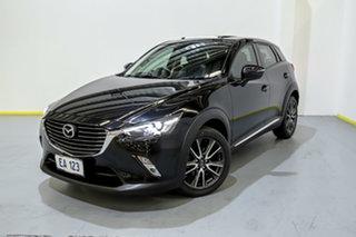 2015 Mazda CX-3 DK2W7A Akari SKYACTIV-Drive Black 6 Speed Sports Automatic Wagon.