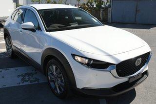 2021 Mazda CX-30 DM2W7A G20 SKYACTIV-Drive Touring Snowflake White Pearl 6 Speed Sports Automatic.