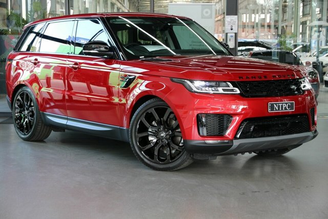 Used Land Rover Range Rover Sport L494 20.5MY SE North Melbourne, 2020 Land Rover Range Rover Sport L494 20.5MY SE Red 8 Speed Sports Automatic Wagon