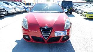 2013 Alfa Romeo Giulietta Series 0 MY12 QV Red 6 Speed Manual Hatchback.