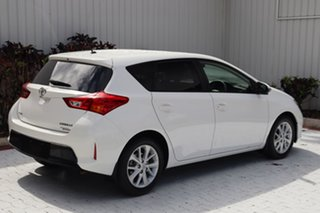 2014 Toyota Corolla ZRE182R Ascent Sport S-CVT White 7 Speed Constant Variable Hatchback