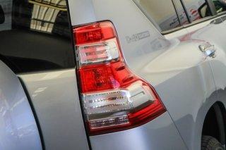 2015 Toyota Landcruiser Prado KDJ150R MY14 GXL (4x4) Silver Pearl 5 Speed Sequential Auto Wagon
