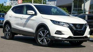 2020 Nissan Qashqai MY20 ST-L Ivory Pearl Continuous Variable Wagon.