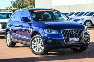 2015 Audi Q5 8R MY15 TFSI Tiptronic Quattro Blue 8 Speed Sports Automatic Wagon.