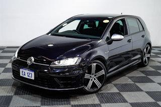 2014 Volkswagen Golf VII MY14 R DSG 4MOTION Black/Grey 6 Speed Sports Automatic Dual Clutch.