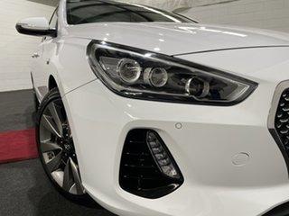 2018 Hyundai i30 PD MY18 SR D-CT Premium Polar White 7 Speed Sports Automatic Dual Clutch Hatchback.
