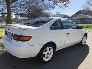 1996 Toyota Paseo EL54R White 4 Speed Automatic Coupe.