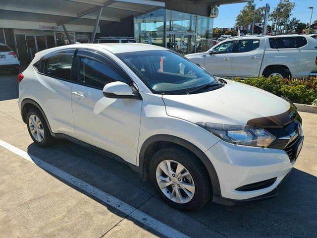 Used Honda HR-V MY15 VTi Yamanto, 2014 Honda HR-V MY15 VTi White 1 Speed Constant Variable Hatchback