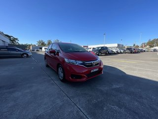 2019 Honda Jazz GF MY19 VTi Red 1 Speed Constant Variable Hatchback.