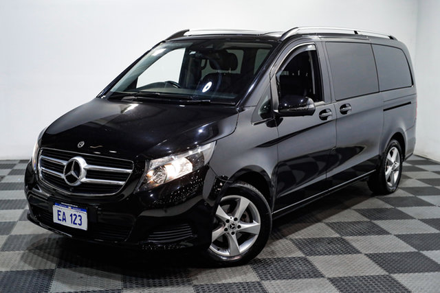Used Mercedes-Benz V-Class 447 V220 d 7G-Tronic + Edgewater, 2017 Mercedes-Benz V-Class 447 V220 d 7G-Tronic + Black/Grey 7 Speed Sports Automatic Wagon