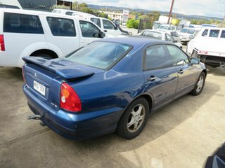2001 Mitsubishi Magna Blue 4 Speed Automatic Sedan.