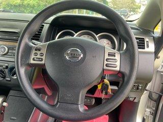 2011 Nissan Tiida C11 S3 ST Silver 4 Speed Automatic Hatchback