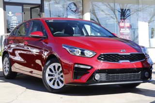 2020 Kia Cerato BD MY21 S Red 6 Speed Sports Automatic Hatchback.