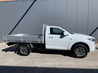 2021 Mazda BT-50 TFR40J XT 4x2 Ice White 6 Speed Sports Automatic Cab Chassis.