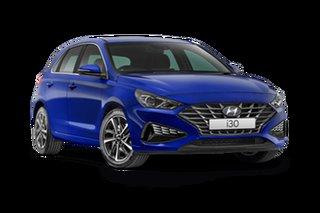 2021 Hyundai i30 PD.V4 Active Intense Blue 6 Speed Automatic Hatchback
