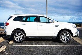 2017 Ford Everest UA Titanium White 6 Speed Sports Automatic SUV.