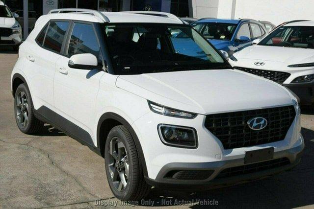 New Hyundai Venue QX.V3 MY21 Active Castle Hill, 2021 Hyundai Venue QX.V3 MY21 Active Cosmic Grey 6 Speed Automatic Wagon