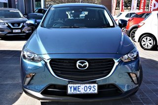 2017 Mazda CX-3 DK4W7A Maxx SKYACTIV-Drive i-ACTIV AWD Blue 6 Speed Sports Automatic Wagon.