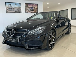 2015 Mercedes-Benz E-Class A207 806MY E250 7G-Tronic + Black 7 Speed Sports Automatic Cabriolet