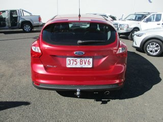 2011 Ford Focus LW Titanium Red 6 Speed Automatic Hatchback.