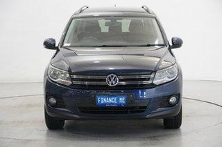 2013 Volkswagen Tiguan 5N MY14 132TSI DSG 4MOTION Pacific Night Blue 7 Speed.
