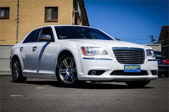 Used Chrysler 300 LX MY13 Limited Moorooka, 2013 Chrysler 300 LX MY13 Limited White 5 Speed Sports Automatic Sedan