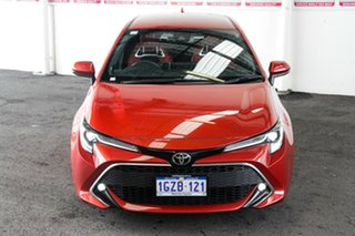 2018 Toyota Corolla Mzea12R ZR Volcanic Red 10 Speed Constant Variable Hatchback.