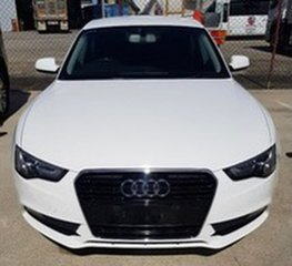 2013 Audi A5 8T MY13 Sportback Multitronic White 8 Speed Constant Variable Hatchback