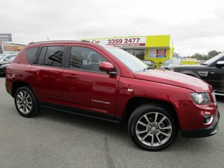 2013 Jeep Compass MK MY14 Limited Burgundy 6 Speed Sports Automatic Wagon