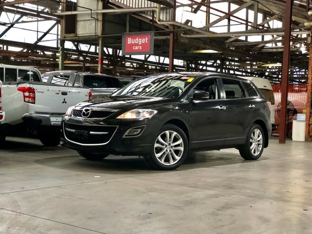 Used Mazda CX-9 TB10A3 MY10 Grand Touring Mile End South, 2010 Mazda CX-9 TB10A3 MY10 Grand Touring Black 6 Speed Sports Automatic Wagon
