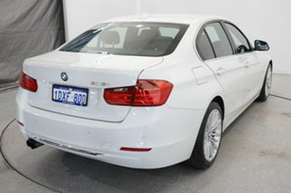 2012 BMW 3 Series F30 MY0812 328i White 8 Speed Sports Automatic Sedan