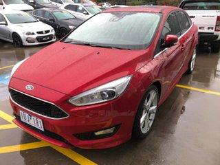 2017 Ford Focus LZ Titanium Red 6 Speed Automatic Sedan