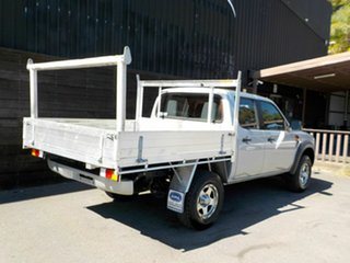 2010 Ford Ranger PK XL Crew Cab 4x2 Hi-Rider Silver 5 Speed Manual Utility