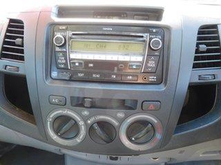 2011 Toyota Hilux KUN16R MY12 SR Double Cab 4x2 White 5 Speed Manual Utility