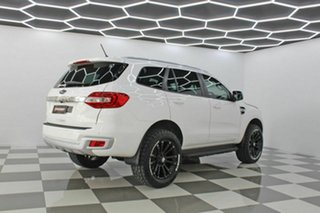 2018 Ford Everest UA MY18 Trend (RWD) (5 Yr) White 6 Speed Automatic SUV