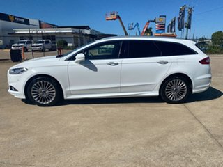 2016 Ford Mondeo MD Titanium White/270917 6 Speed Sports Automatic Dual Clutch Wagon