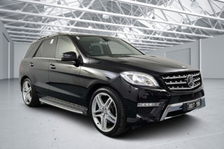 2015 Mercedes-Benz ML350 CDI BlueTEC 166 MY15 4x4 Black 7 Speed Automatic Wagon.