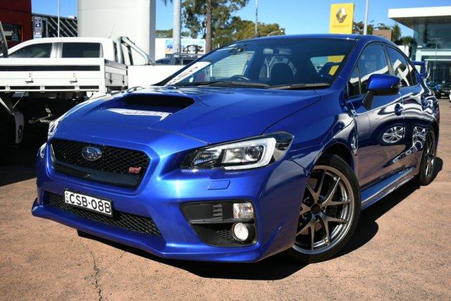 Used Subaru WRX MY15 STI Premium (AWD) Brookvale, 2014 Subaru WRX MY15 STI Premium (AWD) Blue 6 Speed Manual Sedan