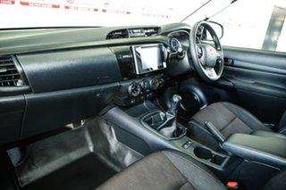 2018 Toyota Hilux GUN126R MY17 SR (4x4) Glacier White 6 Speed Manual Dual Cab Utility