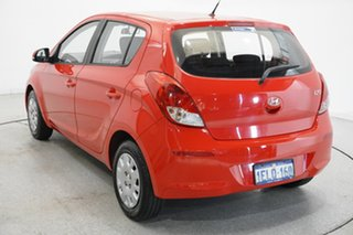 2014 Hyundai i20 PB MY14 Active Electric Red 4 Speed Automatic Hatchback.