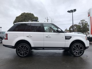 2013 Land Rover Range Rover MY13.5 Sport 3.0L SDV6 HSE Lux. Black 8 Speed Automatic Wagon.