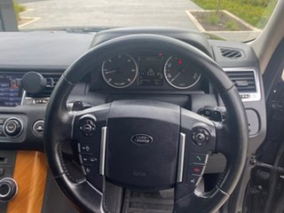 2010 Land Rover Range Rover Sport L320 11MY TDV6 Black 6 Speed Sports Automatic Wagon.