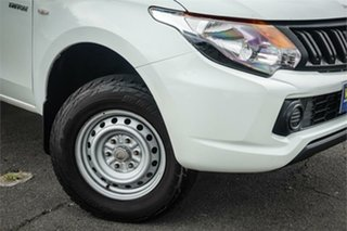 2016 Mitsubishi Triton MQ MY17 GLX 4x2 White 5 Speed Sports Automatic Cab Chassis.