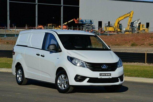 New LDV G10 SV7C + Castle Hill, 2021 LDV G10 SV7C + D 8 Speed Sports Automatic Van