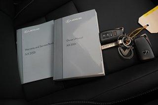 2016 Lexus NX AGZ10R NX200t 2WD Luxury Silver 6 Speed Sports Automatic Wagon