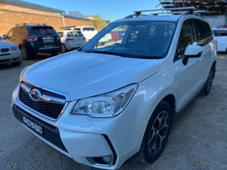 2013 Subaru Forester S4 MY13 XT Lineartronic AWD Satin White 8 Speed Constant Variable Wagon.