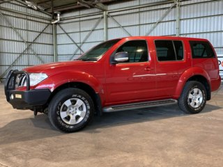 2011 Nissan Pathfinder R51 MY10 ST Red 5 Speed Sports Automatic Wagon.