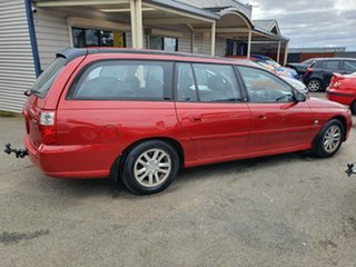2004 Holden Commodore VY II Acclaim Red 4 Speed Automatic Wagon.